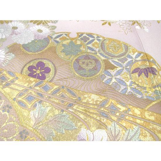 桂由美 色留袖 レンタル 862番 20点フルセットレンタル 往復送料無料|kimono-world|05