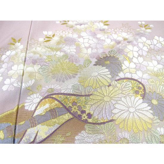 桂由美 色留袖 レンタル 862番 20点フルセットレンタル 往復送料無料|kimono-world|06