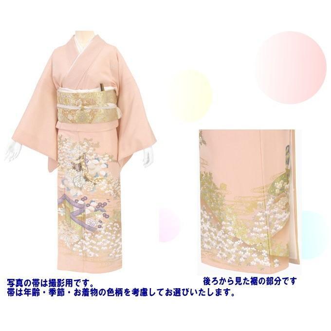 桂由美 色留袖 レンタル 863番 20点フルセットレンタル 往復送料無料|kimono-world|02