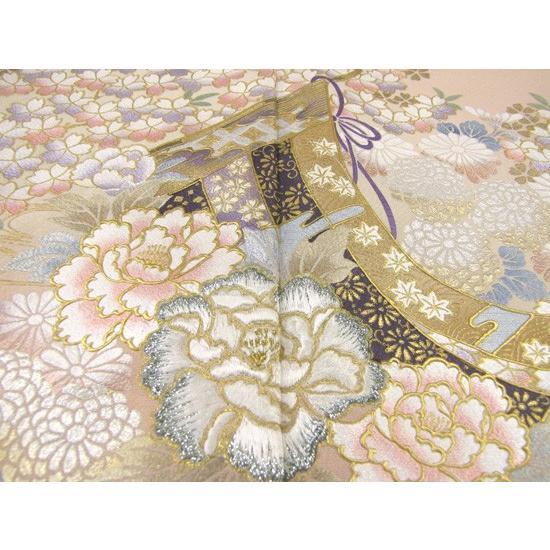 桂由美 色留袖 レンタル 863番 20点フルセットレンタル 往復送料無料|kimono-world|04