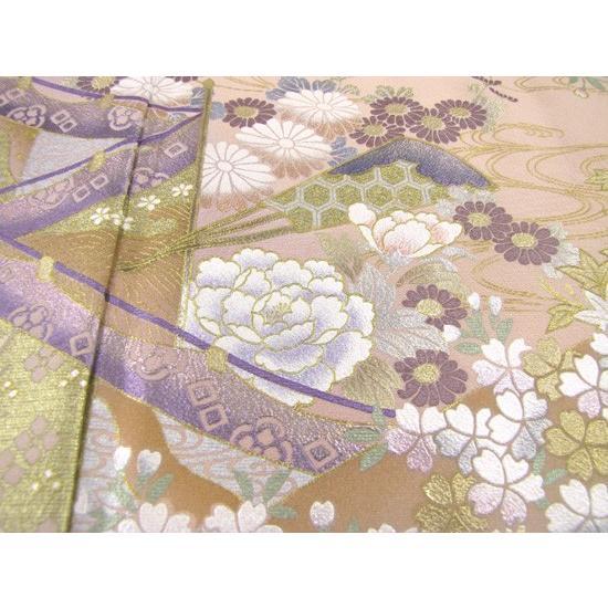 桂由美 色留袖 レンタル 863番 20点フルセットレンタル 往復送料無料|kimono-world|05