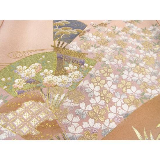 桂由美 色留袖 レンタル 863番 20点フルセットレンタル 往復送料無料|kimono-world|06