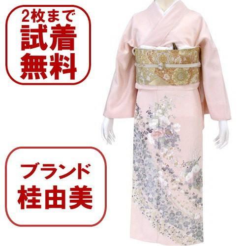 桂由美 色留袖 レンタル 864番 20点フルセットレンタル 往復送料無料|kimono-world