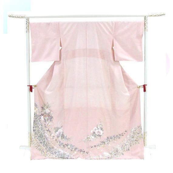 桂由美 色留袖 レンタル 864番 20点フルセットレンタル 往復送料無料|kimono-world|03