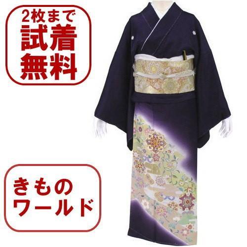 色留袖 レンタル 866番 20点フルセットレンタル 往復送料無料 kimono-world