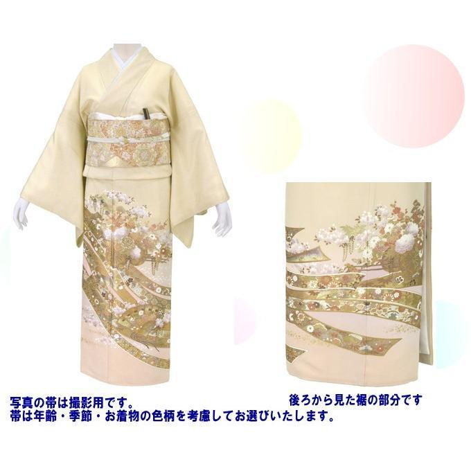 桂由美 江戸の花 色留袖 レンタル 867番 20点フルセットレンタル 往復送料無料 kimono-world 02
