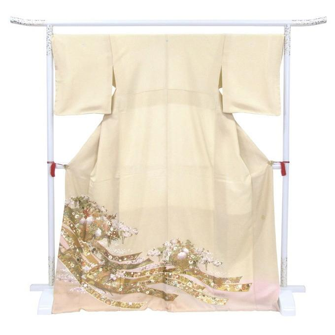 桂由美 江戸の花 色留袖 レンタル 867番 20点フルセットレンタル 往復送料無料 kimono-world 03