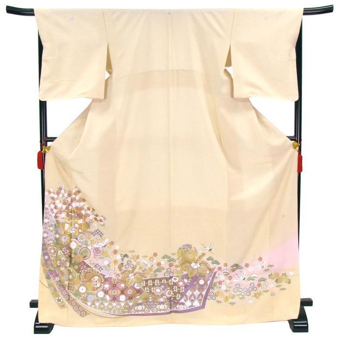 ブランド桂由美/花御殿 色留袖 レンタル 875番 20点フルセットレンタル 往復送料無料 kimono-world 04