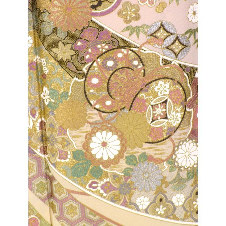 ブランド桂由美/花御殿 色留袖 レンタル 875番 20点フルセットレンタル 往復送料無料 kimono-world 06