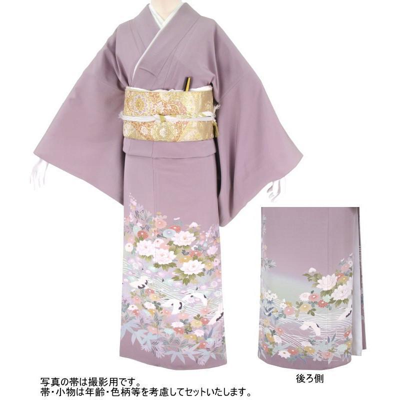 色留袖 レンタル 876番 20点フルセットレンタル 往復送料無料|kimono-world|02