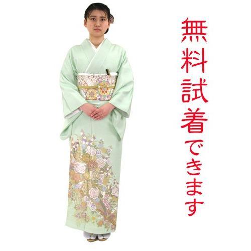 ブランド桂由美/優しい花園 色留袖 レンタル 878番 20点フルセットレンタル 往復送料無料 kimono-world