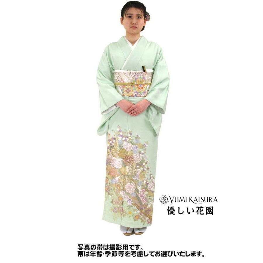 ブランド桂由美/優しい花園 色留袖 レンタル 878番 20点フルセットレンタル 往復送料無料 kimono-world 02