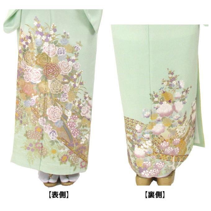 ブランド桂由美/優しい花園 色留袖 レンタル 878番 20点フルセットレンタル 往復送料無料 kimono-world 03