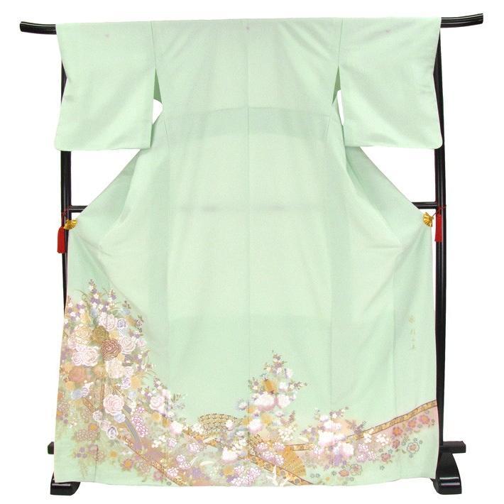 ブランド桂由美/優しい花園 色留袖 レンタル 878番 20点フルセットレンタル 往復送料無料 kimono-world 04