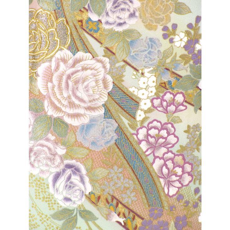 ブランド桂由美/優しい花園 色留袖 レンタル 878番 20点フルセットレンタル 往復送料無料 kimono-world 06