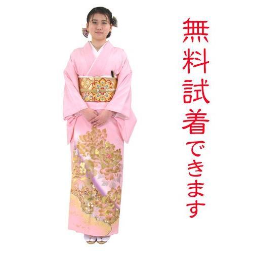 ブランド桂由美/富貴の庭 色留袖 レンタル 881番 20点フルセットレンタル 往復送料無料|kimono-world