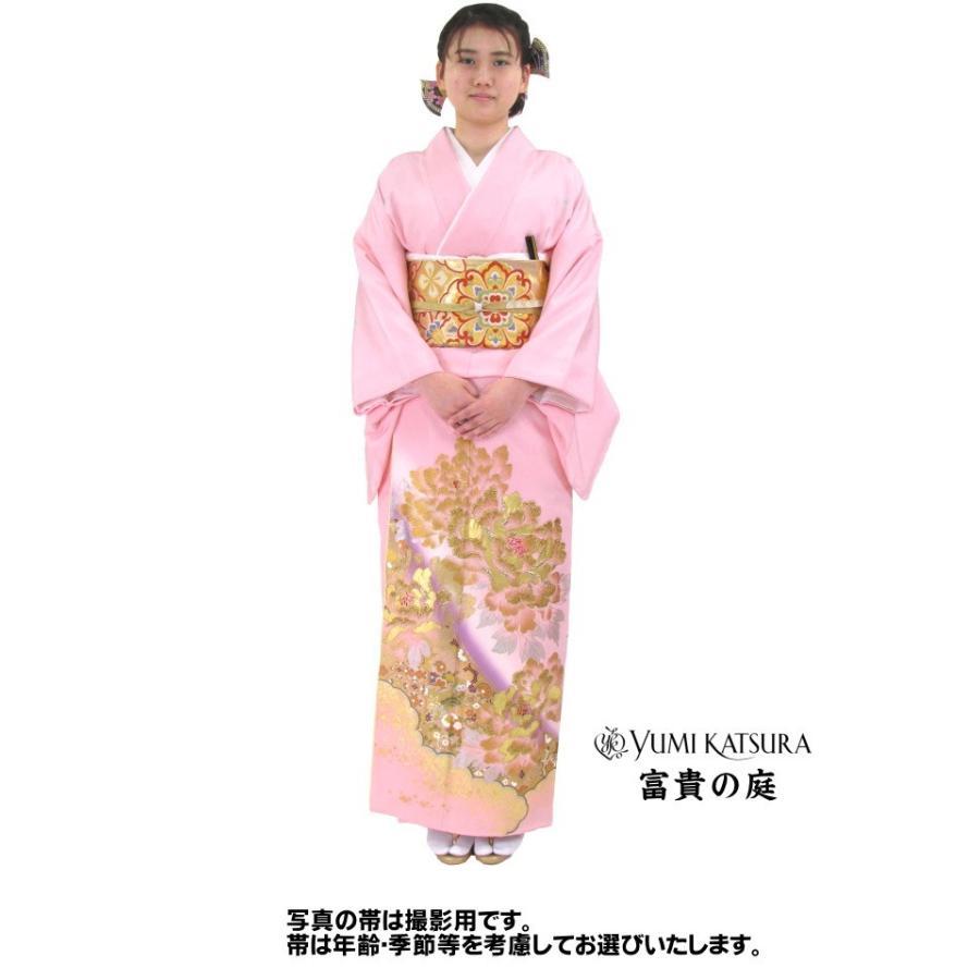 ブランド桂由美/富貴の庭 色留袖 レンタル 881番 20点フルセットレンタル 往復送料無料|kimono-world|02
