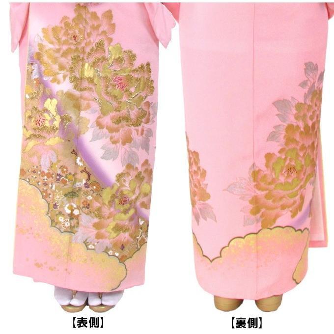 ブランド桂由美/富貴の庭 色留袖 レンタル 881番 20点フルセットレンタル 往復送料無料|kimono-world|03