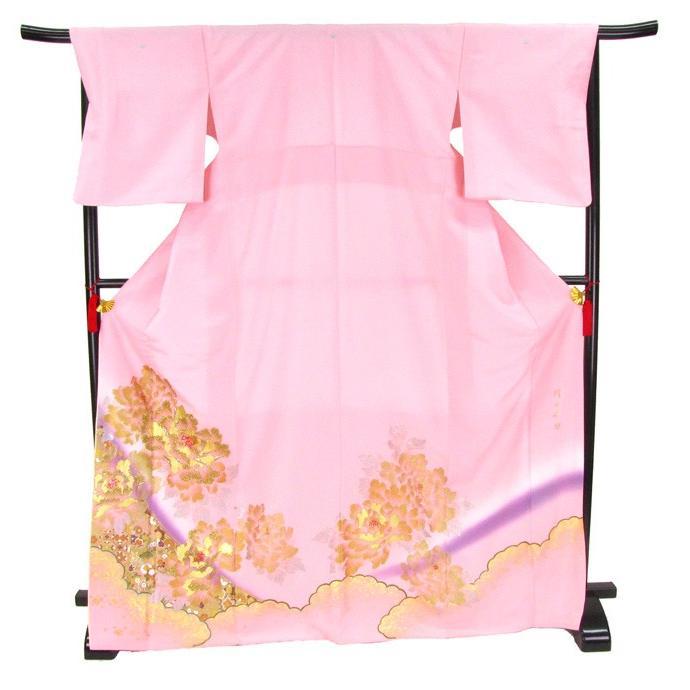 ブランド桂由美/富貴の庭 色留袖 レンタル 881番 20点フルセットレンタル 往復送料無料|kimono-world|04