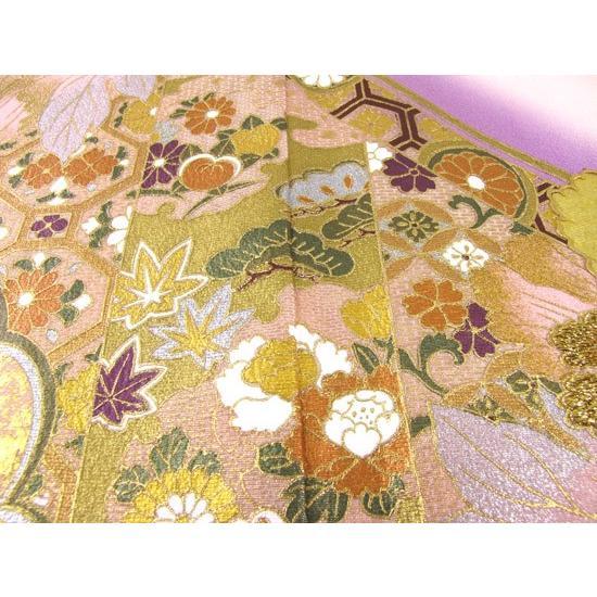 ブランド桂由美/富貴の庭 色留袖 レンタル 881番 20点フルセットレンタル 往復送料無料|kimono-world|06