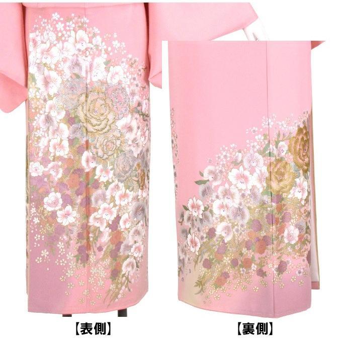 ブランド桂由美/ひそやかな花 色留袖 レンタル 884番 20点フルセットレンタル 往復送料無料 kimono-world 03