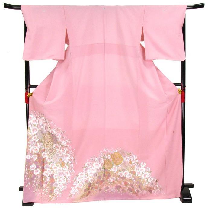 ブランド桂由美/ひそやかな花 色留袖 レンタル 884番 20点フルセットレンタル 往復送料無料 kimono-world 04