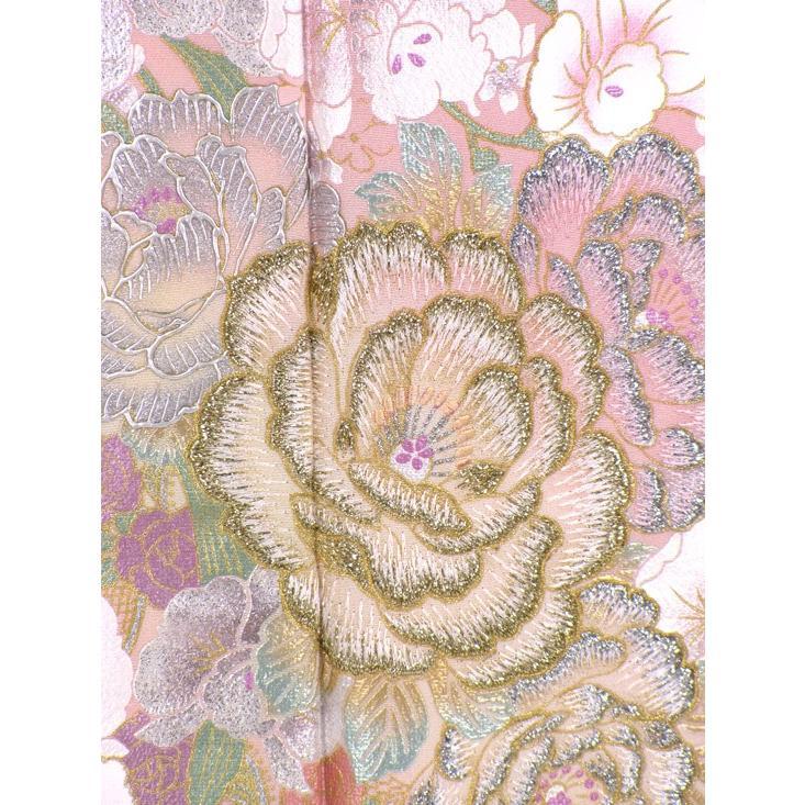 ブランド桂由美/ひそやかな花 色留袖 レンタル 884番 20点フルセットレンタル 往復送料無料 kimono-world 05