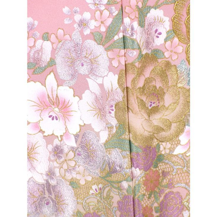 ブランド桂由美/ひそやかな花 色留袖 レンタル 884番 20点フルセットレンタル 往復送料無料 kimono-world 07