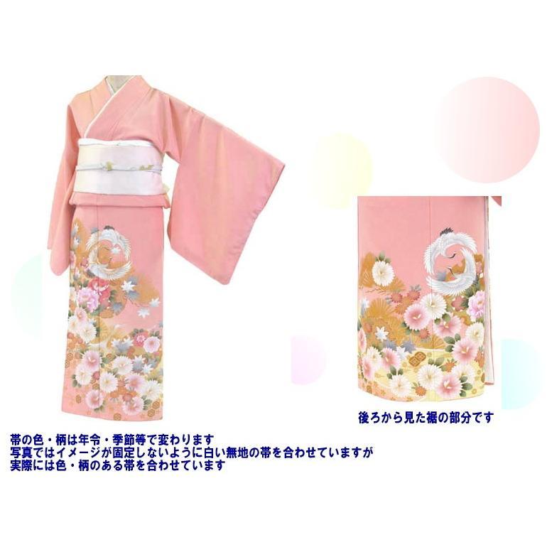 色留袖 レンタル 906番 20点フルセットレンタル 往復送料無料|kimono-world|02