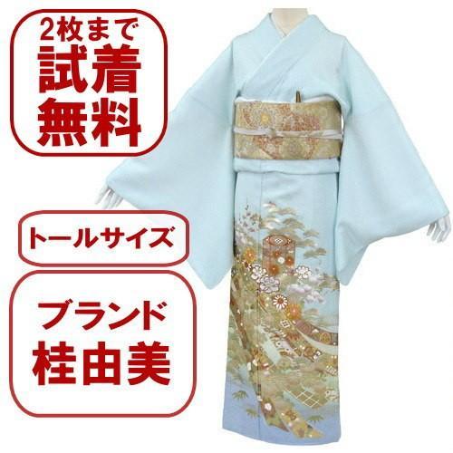桂由美 色留袖 レンタル 907番 20点フルセットレンタル 往復送料無料 kimono-world