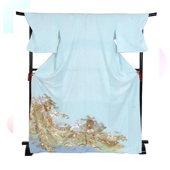 桂由美 色留袖 レンタル 907番 20点フルセットレンタル 往復送料無料 kimono-world 03