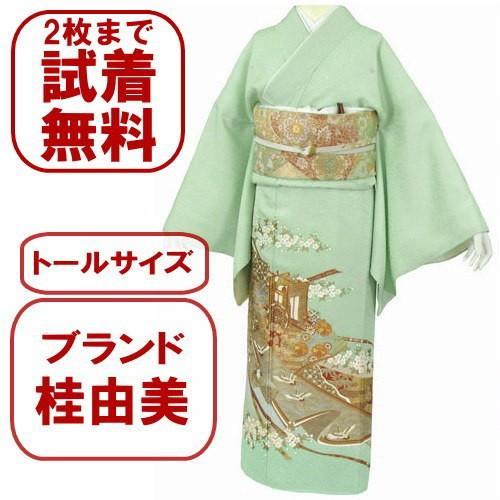 桂由美 色留袖 レンタル 908番 20点フルセットレンタル 往復送料無料|kimono-world