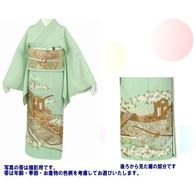 桂由美 色留袖 レンタル 908番 20点フルセットレンタル 往復送料無料|kimono-world|02