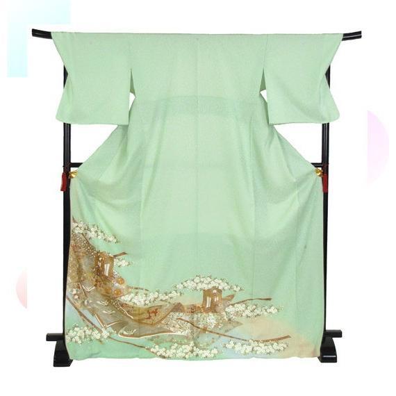 桂由美 色留袖 レンタル 908番 20点フルセットレンタル 往復送料無料|kimono-world|03