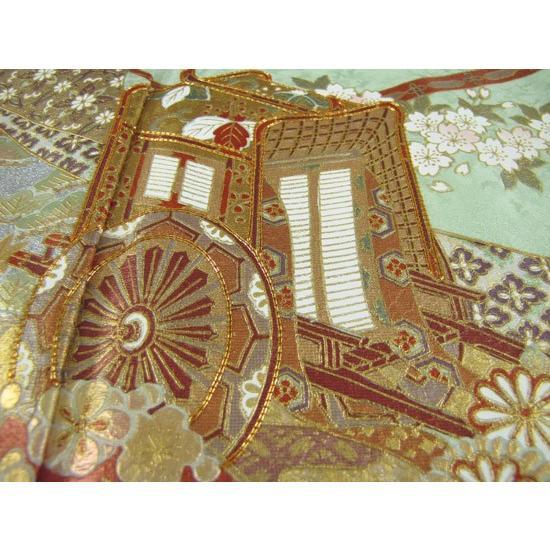 桂由美 色留袖 レンタル 908番 20点フルセットレンタル 往復送料無料|kimono-world|04