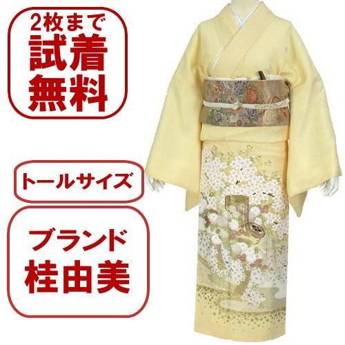 桂由美 色留袖 レンタル 910番 20点フルセットレンタル 往復送料無料|kimono-world
