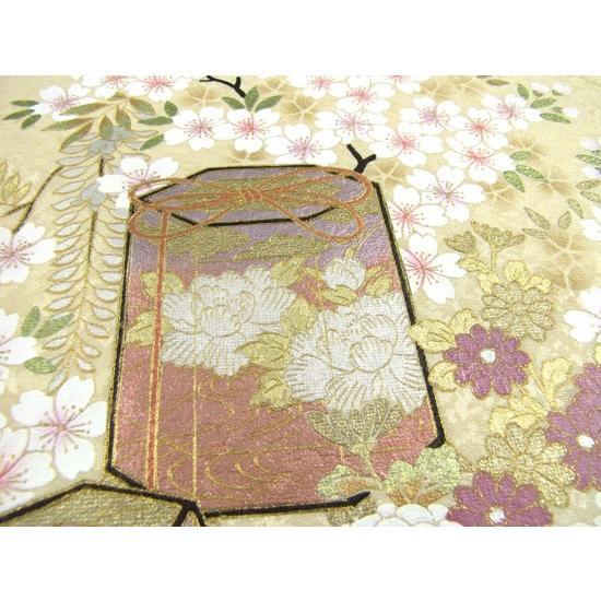 桂由美 色留袖 レンタル 910番 20点フルセットレンタル 往復送料無料|kimono-world|06