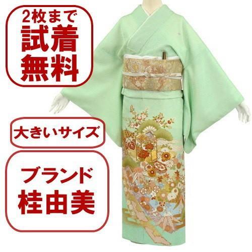 桂由美 色留袖 レンタル 930番 20点フルセットレンタル 往復送料無料|kimono-world