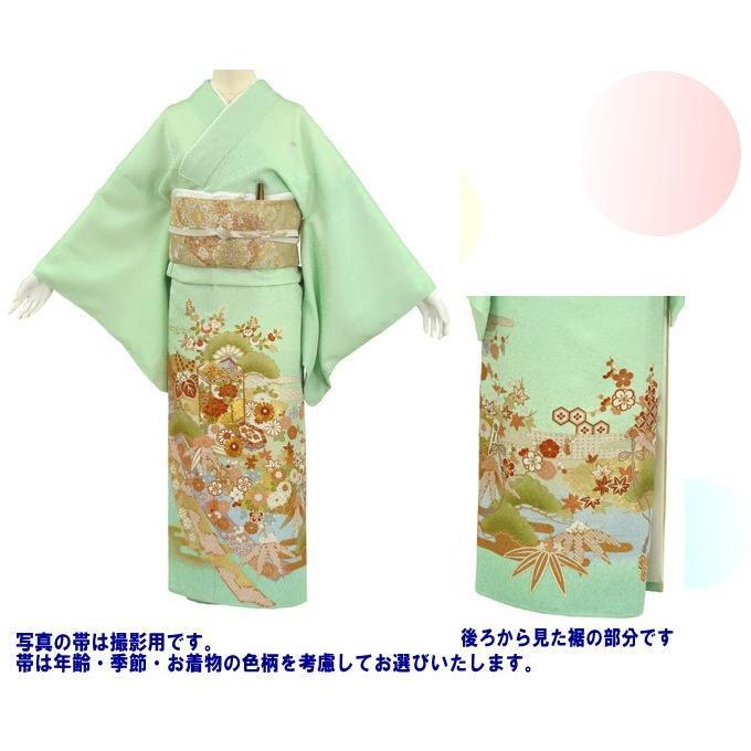 桂由美 色留袖 レンタル 930番 20点フルセットレンタル 往復送料無料|kimono-world|02