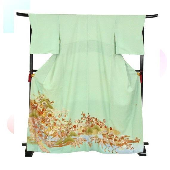 桂由美 色留袖 レンタル 930番 20点フルセットレンタル 往復送料無料|kimono-world|03