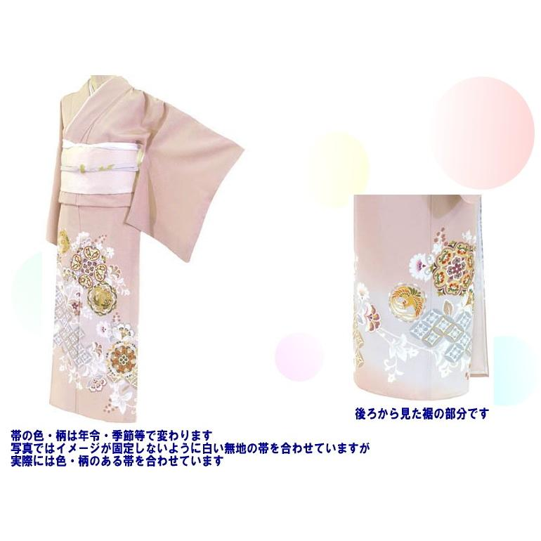 色留袖 レンタル 943番 20点フルセットレンタル 往復送料無料|kimono-world|02
