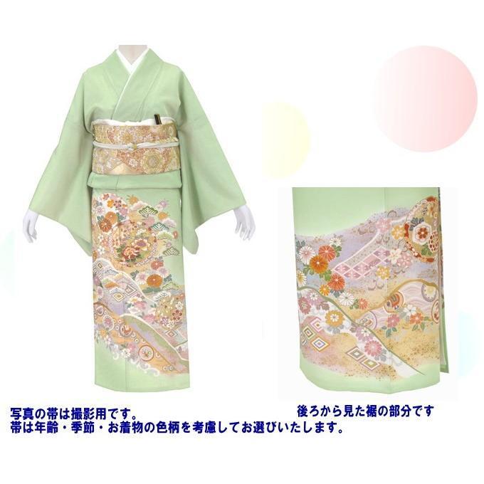 色留袖 レンタル 952番 20点フルセットレンタル 往復送料無料|kimono-world|02