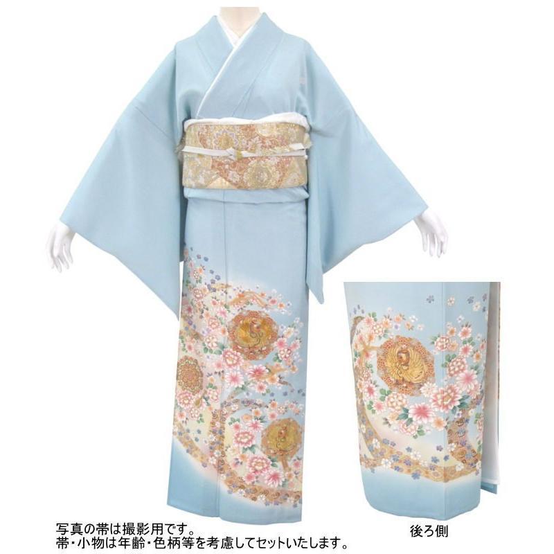 色留袖 レンタル 954番 20点フルセットレンタル 往復送料無料|kimono-world|02