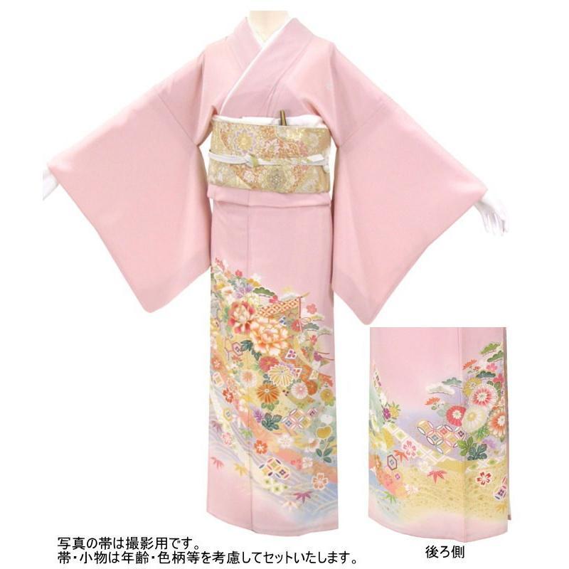 色留袖 レンタル 955番 20点フルセットレンタル 往復送料無料 kimono-world 02