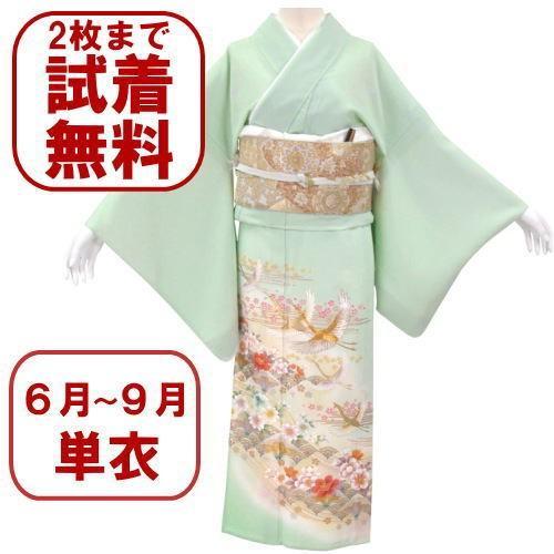 色留袖 レンタル 956番 20点フルセットレンタル 往復送料無料|kimono-world