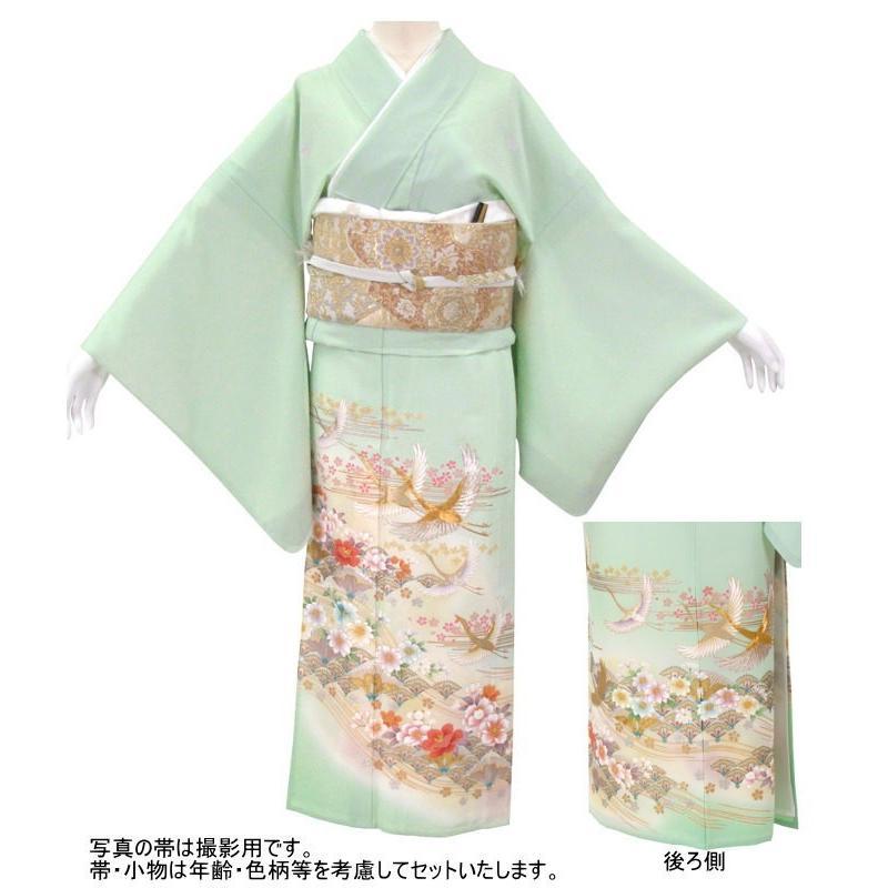 色留袖 レンタル 956番 20点フルセットレンタル 往復送料無料|kimono-world|02