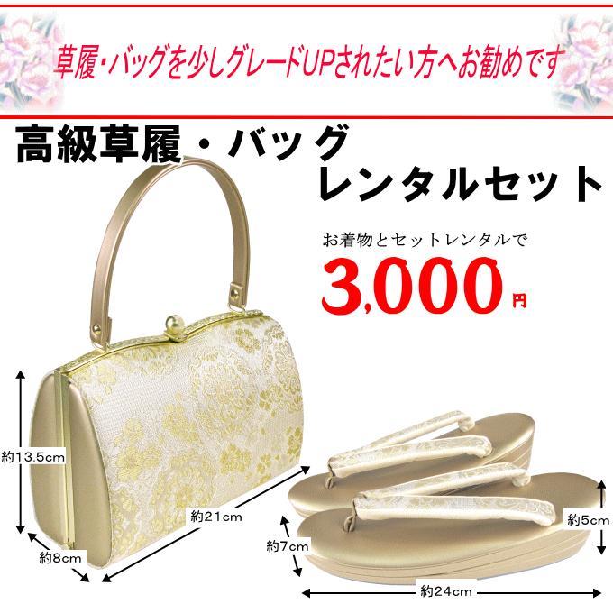 【24cm】草履バッグ 033番 レンタル用|kimono-world|02