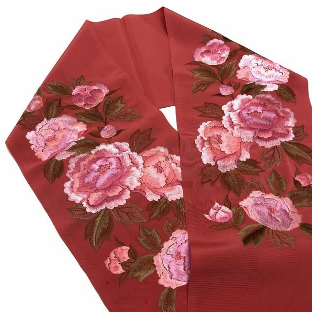 半衿 日本製 高級 刺繍半襟 はんえり 半襟 半えり 刺繍 ししゅう 振袖 訪問着 成人式 卒業式 洗える レディースファッション 和装 和装小物 和服 着物 女性 kimono5298 02