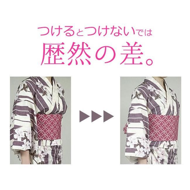和装ブラジャー 2枚セット 大きな胸 平らにスッキリ 補整 白 Sサイズ〜4Lまで 日本製 着物 ブラジャー|kimonocafe-y|06