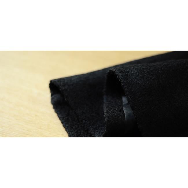 訳あり サンプル品 着物 コート マフラー付き ケープ コート 黒 ブラック ポンチョコート ウール 特集|kimonocafe-y|03